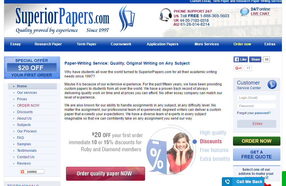 Cheap papers online